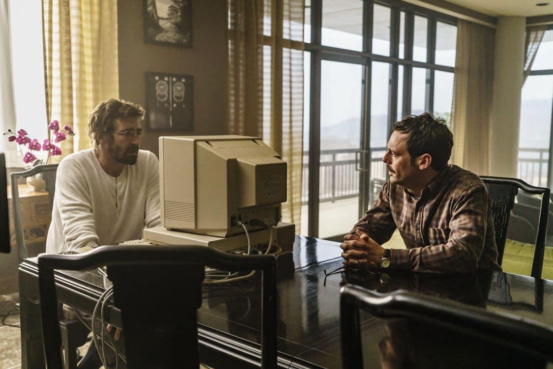 Lee Pace as Joe MacMillan, Scoot McNairy as Gordon Clark- Halt and Catch Fire _ Season 3, Episode 8 - Photo Credit: Tina Rowden/AMC