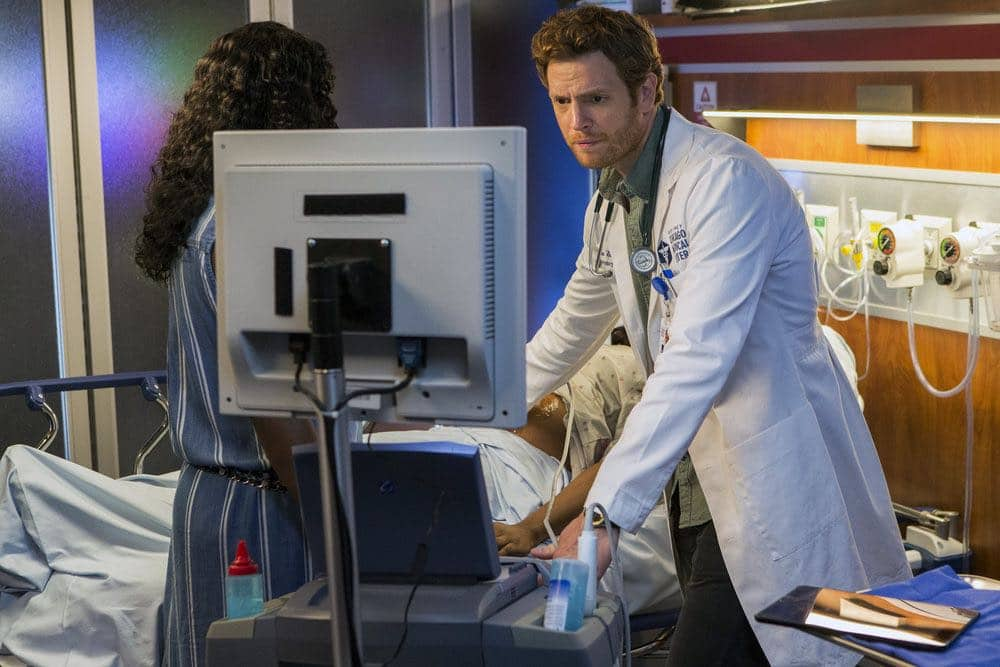 """CHICAGO MED -- """"Natural History"""" Episode 202 -- Pictured: Nick Gehlfuss as Will Halstead -- (Photo by: Parrish Lewis/NBC)"""