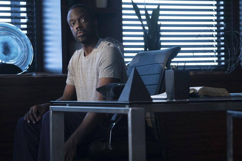 """CHICAGO MED -- """"Natural History"""" Episode 202 -- Pictured: Ato Essandoh as Isidore Latham -- (Photo by: Elizabeth Sisson/NBC)"""