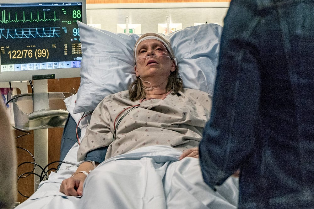 """CHICAGO P.D. -- """"All Cylinders Firing"""" Episode 403 -- Pictured: Amy Morton as Trudy Platt -- (Photo by: Matt Dinerstein/NBC)"""