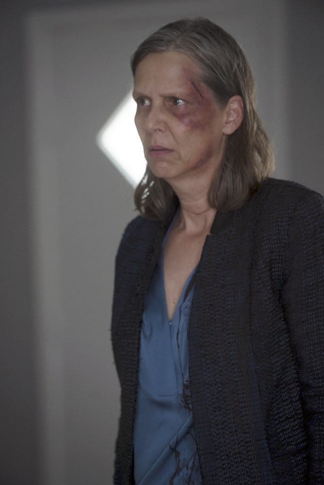 """CHICAGO P.D. -- """"All Cylinders Firing"""" Episode 403 -- Pictured: Amy Morton as Trudy Platt -- (Photo by: Jean Whiteside/NBC)"""
