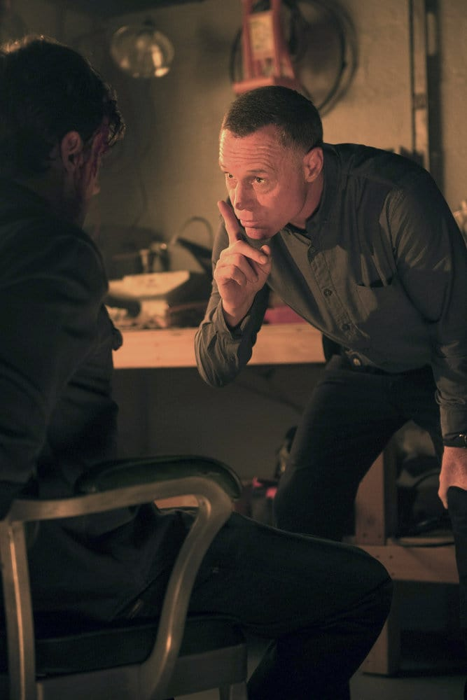 """CHICAGO P.D. -- """"All Cylinders Firing"""" Episode 403 -- Pictured: Jason Beghe as Hank Voight -- (Photo by: Jean Whiteside/NBC)"""