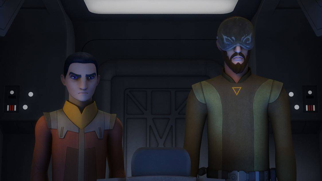 """STAR WARS REBELS - """"The Holocrons of Fate"""" - When Maul takes the crew of the Ghost hostage, Ezra and Kanan must recover an ancient Sith artifact to save them. This episode of """"Star Wars Rebels"""" airs Saturday, October 01 (8:30-9:00 P.M. EDT) on Disney XD. (Lucasfilm) EZRA, KANAN"""