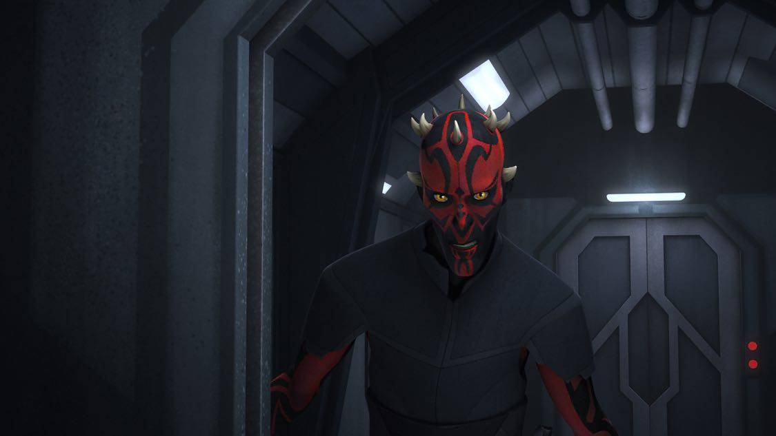 """STAR WARS REBELS - """"The Holocrons of Fate"""" - When Maul takes the crew of the Ghost hostage, Ezra and Kanan must recover an ancient Sith artifact to save them. This episode of """"Star Wars Rebels"""" airs Saturday, October 01 (8:30-9:00 P.M. EDT) on Disney XD. (Lucasfilm) DARTH MAUL"""