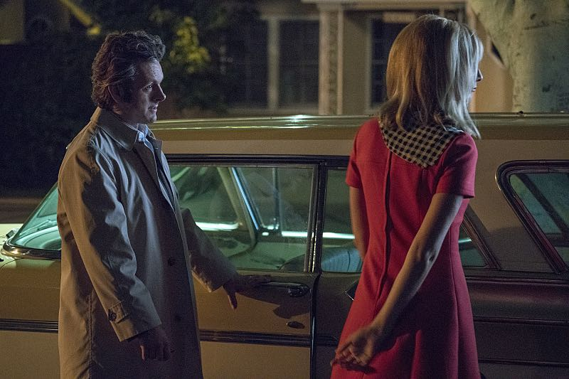 Michael Sheen as Dr. William Masters and Caitlin Fitzgerald as Libby Masters in Masters of Sex (season 4, episode 4) - Photo: Warren Feldman/SHOWTIME - Photo ID: MastersofSex_404_0328
