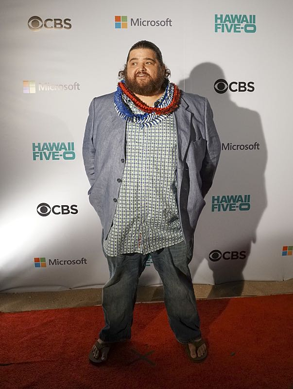 """Jorge Garcia who plays the character """"Jerry Ortega"""" poses for pictures on the red carpet at the seventh annual Sunset on the Beach event, where thousands of Oahu residents and visitors gathered in Waikiki to watch the season seven premiere of Hawaii Five-0, titled Makaukau 'oe e pa 'ani, on Friday, Sept. 23, 2016, in Honolulu. Photo: Hugh Gentry/CBS © 2016 CBS Broadcasting, Inc. All Rights Reserved"""