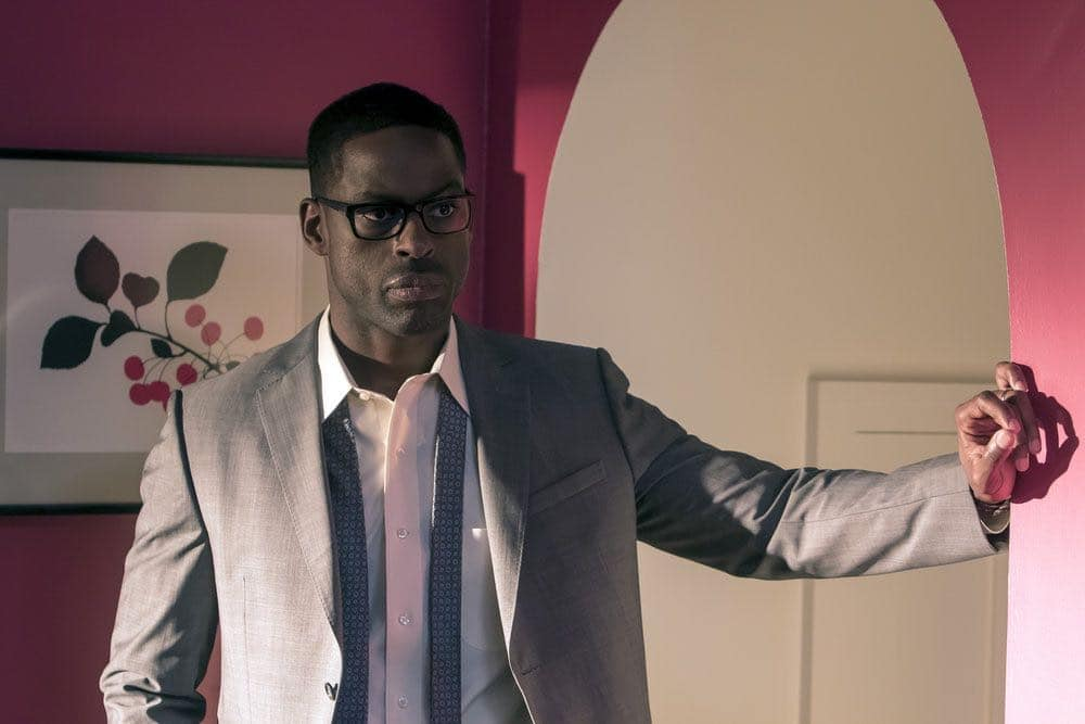 """THIS IS US -- """"The Big Three"""" Episode 102 -- Pictured: Sterling K. Brown as Randall -- (Photo by: Ron Batzdorff/NBC)"""