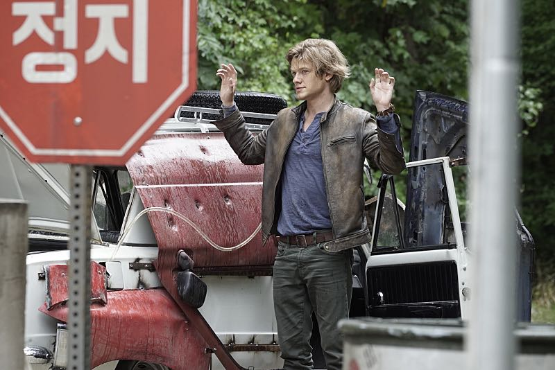 """""""Metal Saw"""" - MacGyver and the team attempt to rescue Sarah (Amy Acker), Jack's former CIA partner/ex-girlfriend who went missing in Venezuela after she obtained evidence to take down an international arms dealer, on MACGYVER, Friday, Sept. 30 (8:00-9:00 PM, ET/PT) on the CBS Television Network. Pictured: Lucas Till Photo: Jace Downs/CBS ©2016 CBS Broadcasting, Inc. All Rights Reserved"""