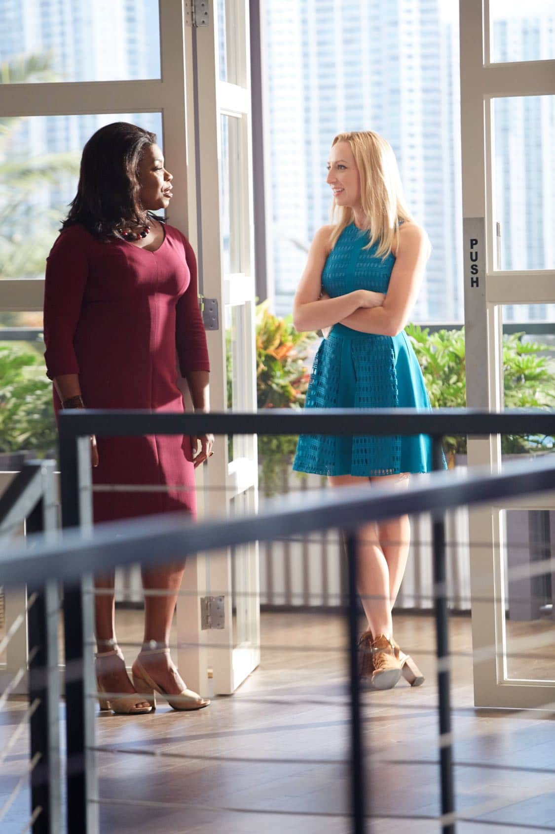 "ROSEWOOD: Pictured L-R: Lorraine Toussaint and Anna Konkle in the ""Secrets and Silent Killers"" episode of ROSEWOOD airing Thursday, Sept. 29 (8:-00-8:50 PM ET/PT) on FOX. ©2016 Fox Broadcasting Co. CR: Tyler Golden/FOX"