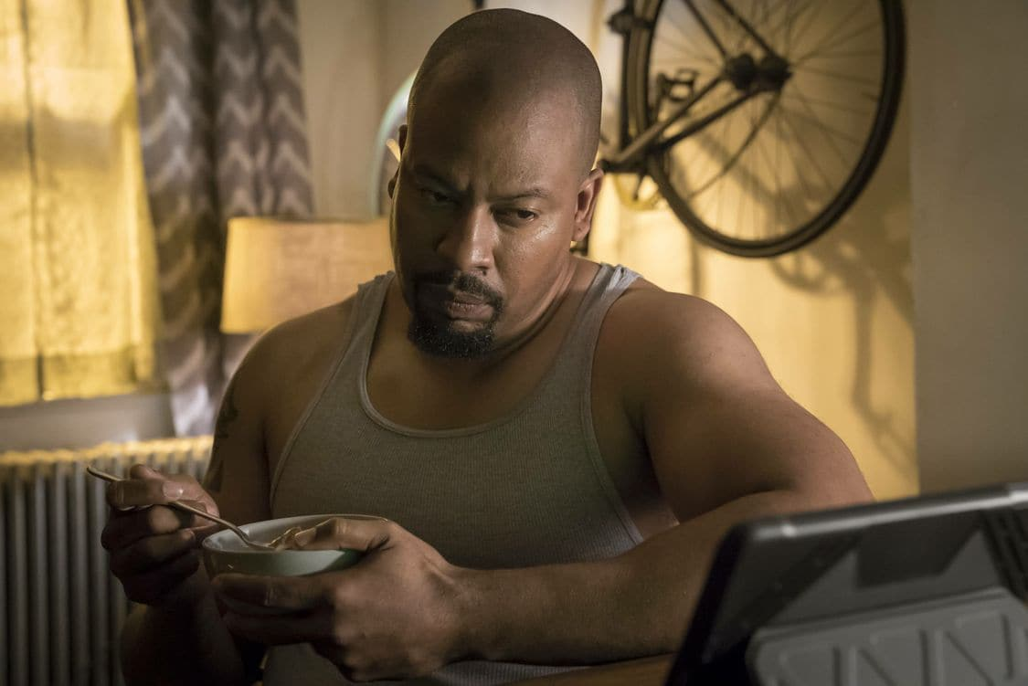 """EMPIRE: Morocco Omari in the """"Sin That Amends"""" episode of EMPIRE airing Wednesday, Sept. 28 (9:00-10:00 PM ET/PT) on FOX. ©2016 Fox Broadcasting Co: CR: Chuck Hodes/FOX"""