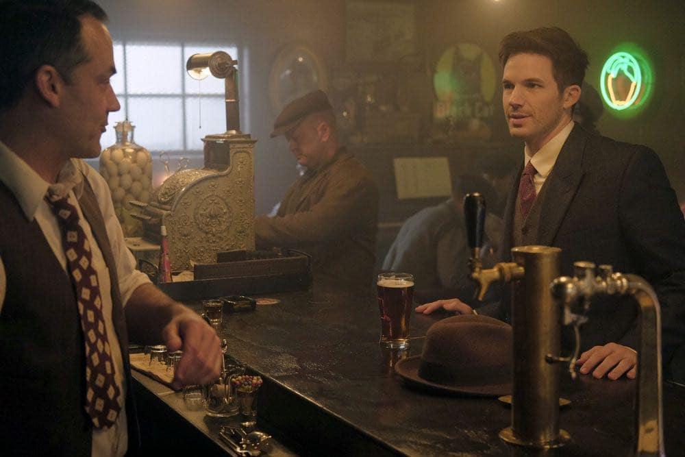 "TIMELESS -- ""Pilot"" -- Pictured: Matt Lanter as Wyatt Logan -- (Photo by: Joe Lederer/NBC)"