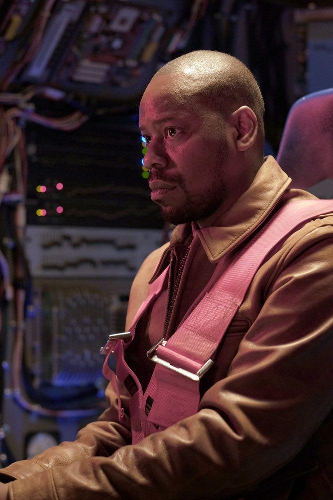 "TIMELESS -- ""Pilot"" -- Pictured: Malcolm Barrett as Rufus Carlin -- (Photo by: Joe Lederer/NBC)"