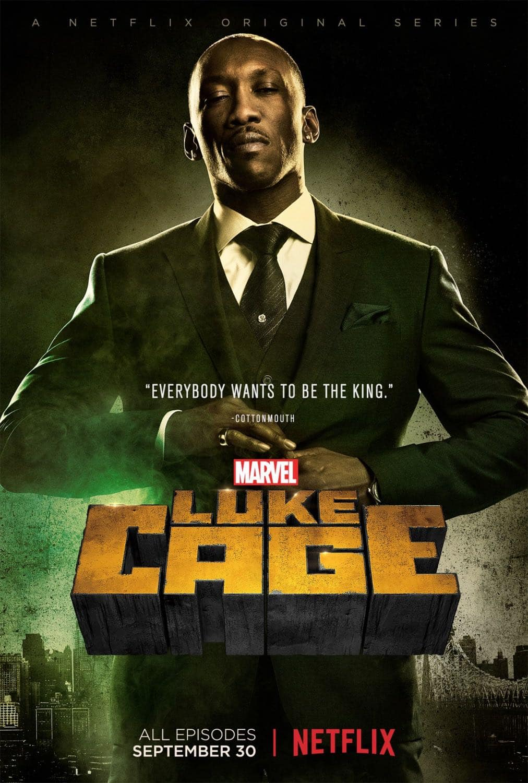 "Mahershala Ali as Cornell ""Cottonmouth"" Stokes | Luke Cage"