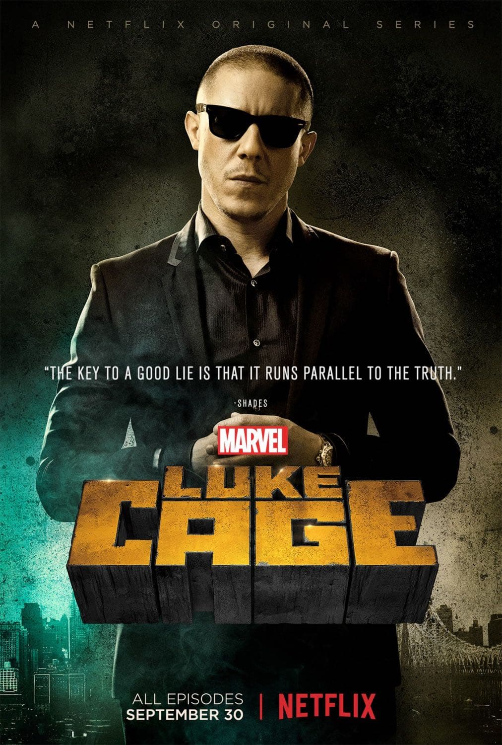 Theo Rossi as Shades | Luke Cage