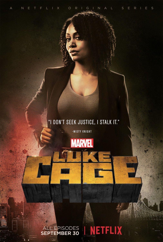 Simone Missick as Misty Knight | Luke Cage