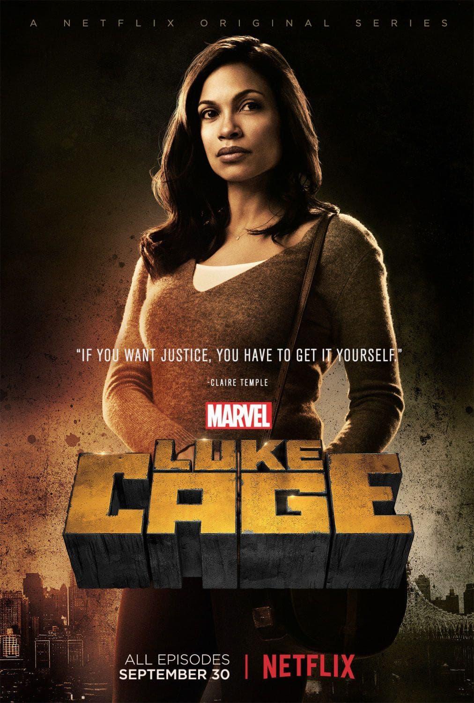 Rosario Dawson as Claire Temple | Luke Cage