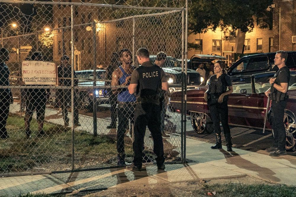 "CHICAGO P.D.  -- ""Made a Wrong Turn"" Episode 402 -- Pictured: (l-r) Jason Beghe as Hank Voight, Sophia Bush as Erin Lindsay, Jesse Lee Soffer as Jay Halstead -- (Photo by: Matt Dinerstein/NBC)"