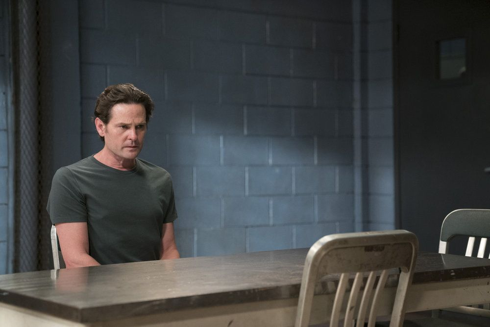 """LAW & ORDER: SPECIAL VICTIMS UNIT -- """"Making A Rapist"""" Episode 1802 -- Pictured: Henry Thomas as Sean Roberts -- (Photo by: Peter Kramer/NBC)"""