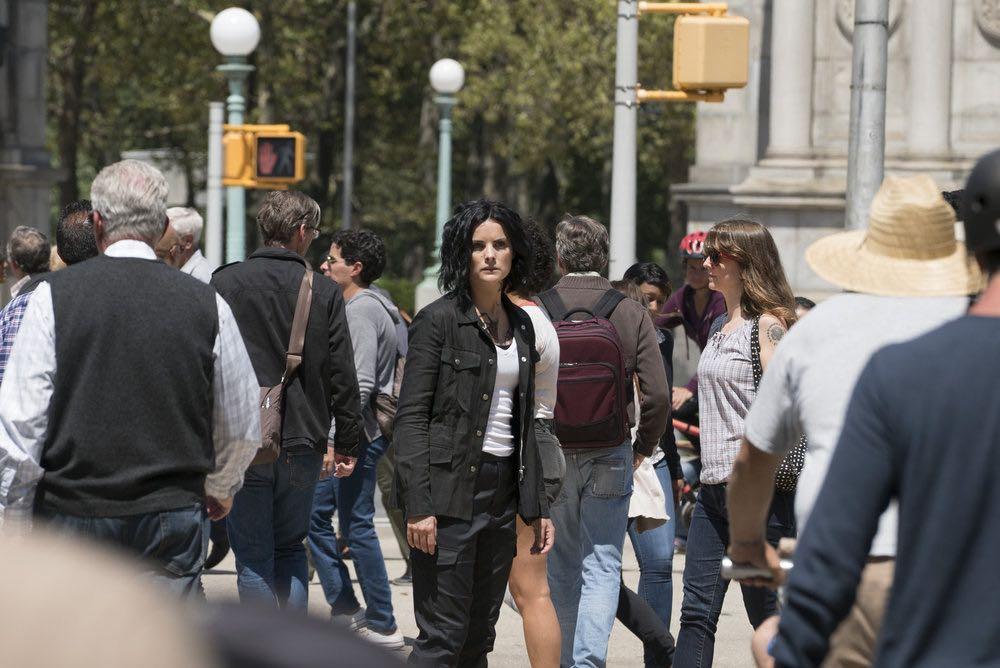 BLINDSPOT -- Episode 203 -- Pictured: Jaimie Alexander as Jane Doe -- (Photo by: Virginia Sherwood/NBC)