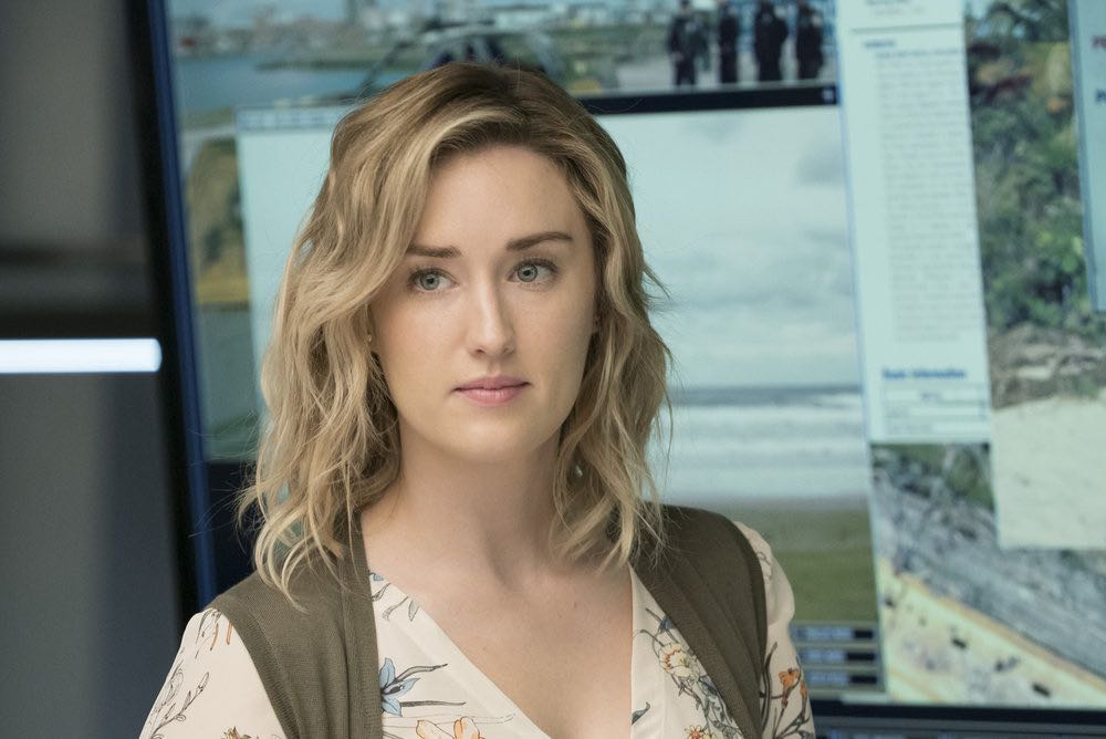BLINDSPOT -- Episode 203 -- Pictured: Ashley Johnson as Patterson -- (Photo by: Virginia Sherwood/NBC)