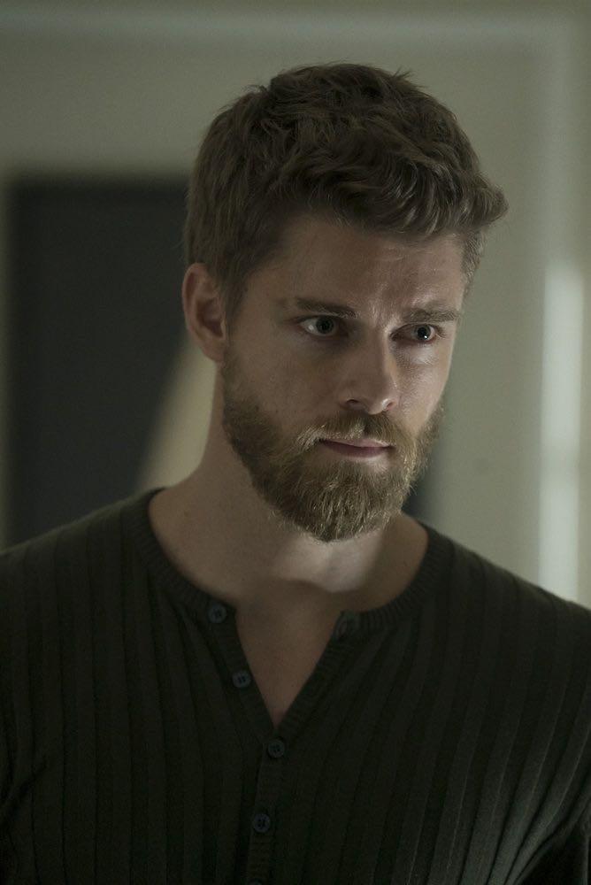 BLINDSPOT -- Episode 203 -- Pictured: Luke Mitchell as Roman -- (Photo by: Peter Kramer/NBC)