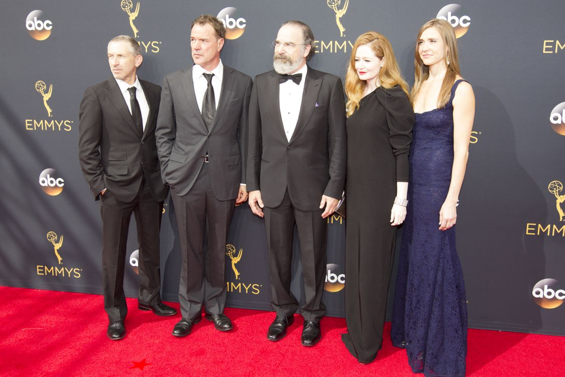"""THE 68TH EMMY(r) AWARDS - """"The 68th Emmy Awards"""" broadcasts live from The Microsoft Theater in Los Angeles, Sunday, September 18 (7:00-11:00 p.m. EDT/4:00-8:00 p.m. PDT), on ABC and is hosted by Jimmy Kimmel. (ABC/Image Group LA) CAST OF HOMELAND"""