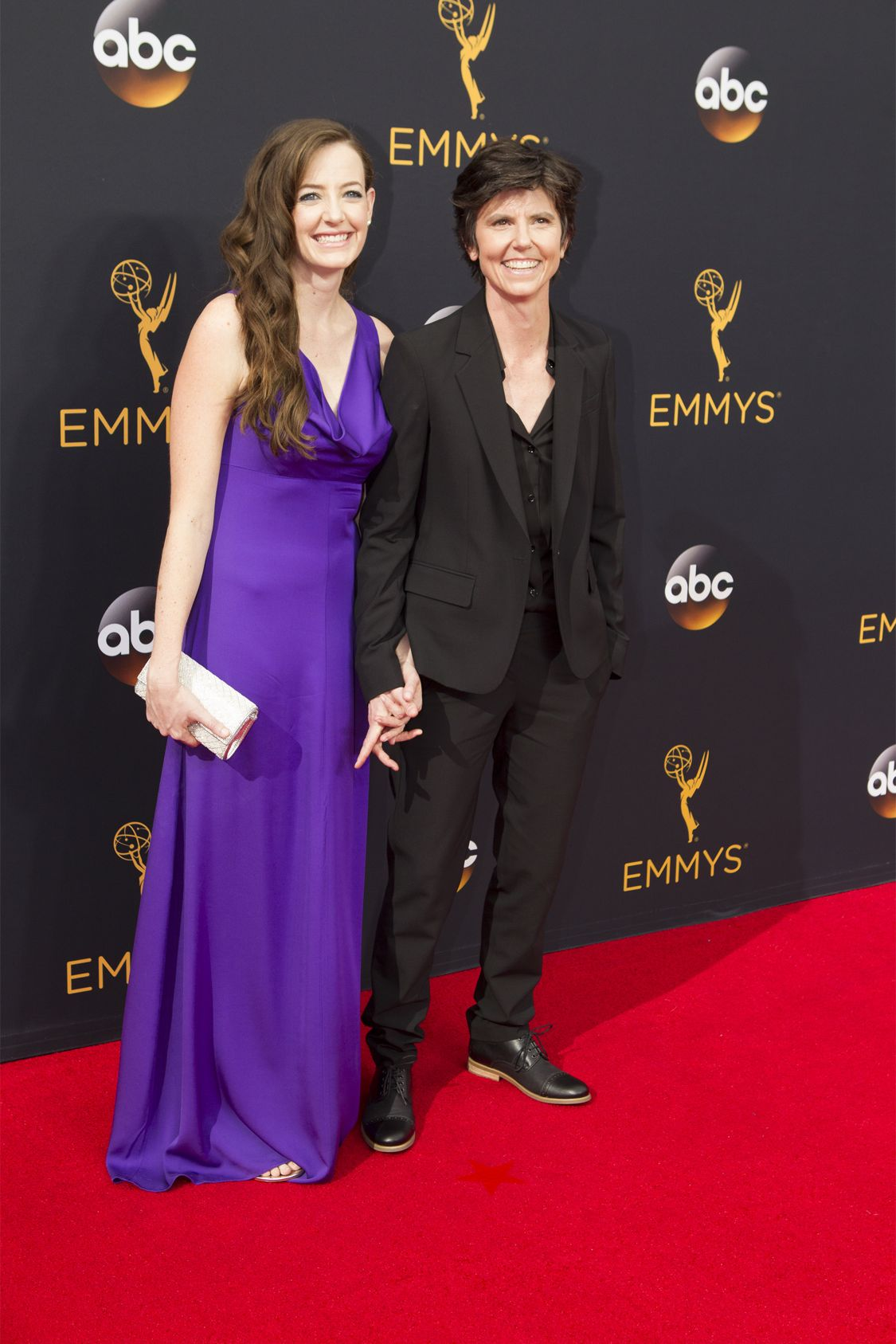 """THE 68TH EMMY(r) AWARDS - """"The 68th Emmy Awards"""" broadcasts live from The Microsoft Theater in Los Angeles, Sunday, September 18 (7:00-11:00 p.m. EDT/4:00-8:00 p.m. PDT), on ABC and is hosted by Jimmy Kimmel. (ABC/Rick Rowell) STEPHANIE ALLYNE, TIG NOTARO"""