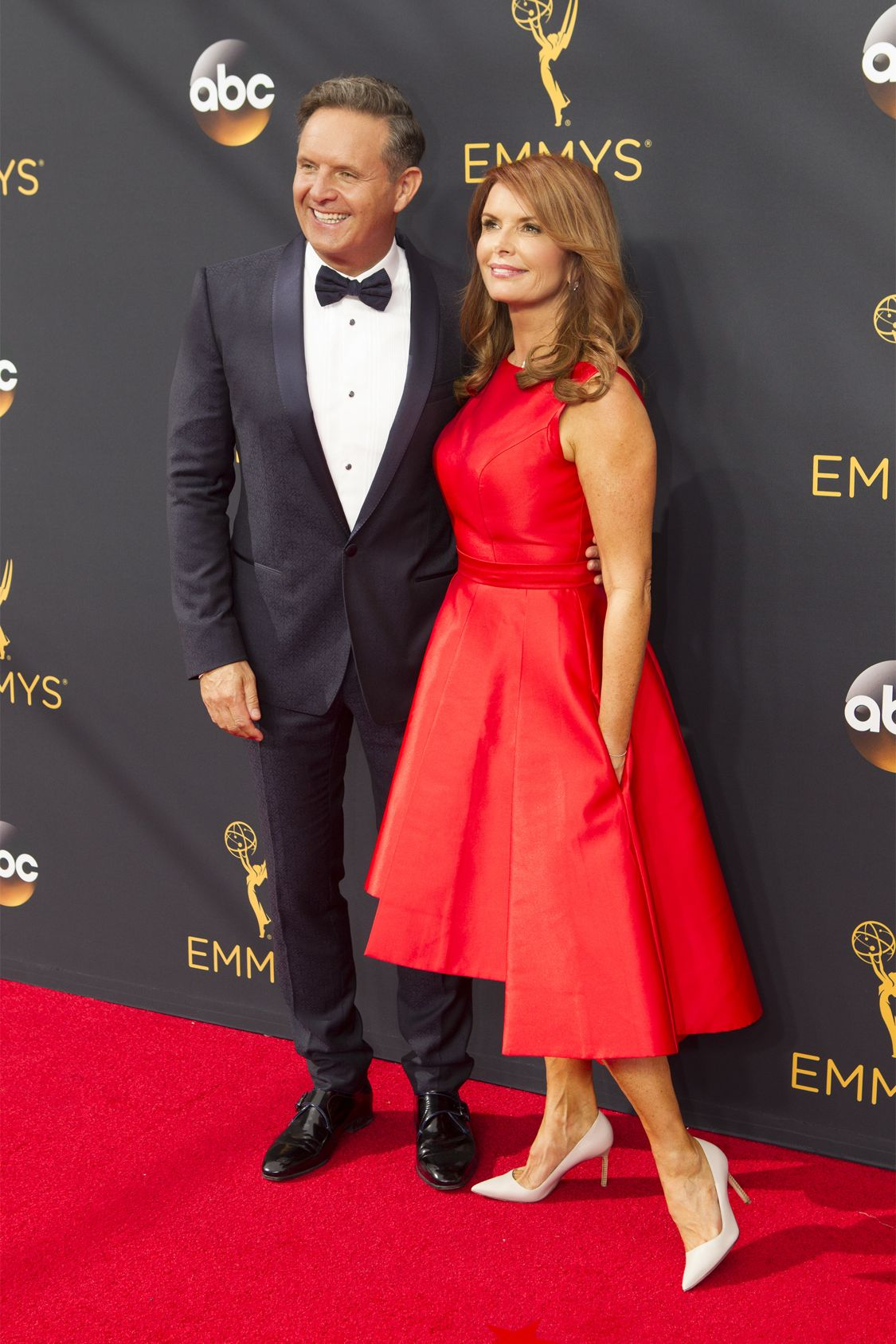 """THE 68TH EMMY(r) AWARDS - """"The 68th Emmy Awards"""" broadcasts live from The Microsoft Theater in Los Angeles, Sunday, September 18 (7:00-11:00 p.m. EDT/4:00-8:00 p.m. PDT), on ABC and is hosted by Jimmy Kimmel. (ABC/Rick Rowell) ROMA DOWNEY"""