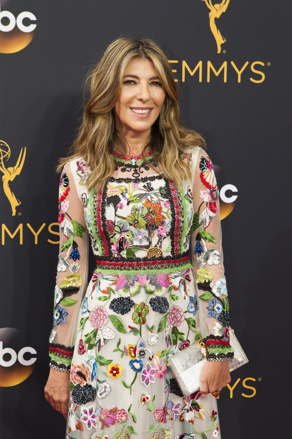 """THE 68TH EMMY(r) AWARDS - """"The 68th Emmy Awards"""" broadcasts live from The Microsoft Theater in Los Angeles, Sunday, September 18 (7:00-11:00 p.m. EDT/4:00-8:00 p.m. PDT), on ABC and is hosted by Jimmy Kimmel. (ABC/Rick Rowell) NINA GARCIA"""