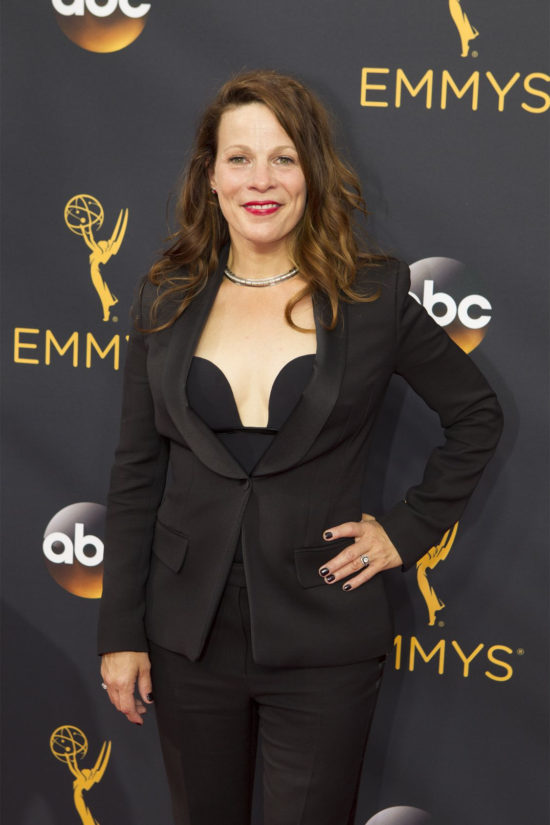 """THE 68TH EMMY(r) AWARDS - """"The 68th Emmy Awards"""" broadcasts live from The Microsoft Theater in Los Angeles, Sunday, September 18 (7:00-11:00 p.m. EDT/4:00-8:00 p.m. PDT), on ABC and is hosted by Jimmy Kimmel. (ABC/Rick Rowell) LILI TAYLOR"""