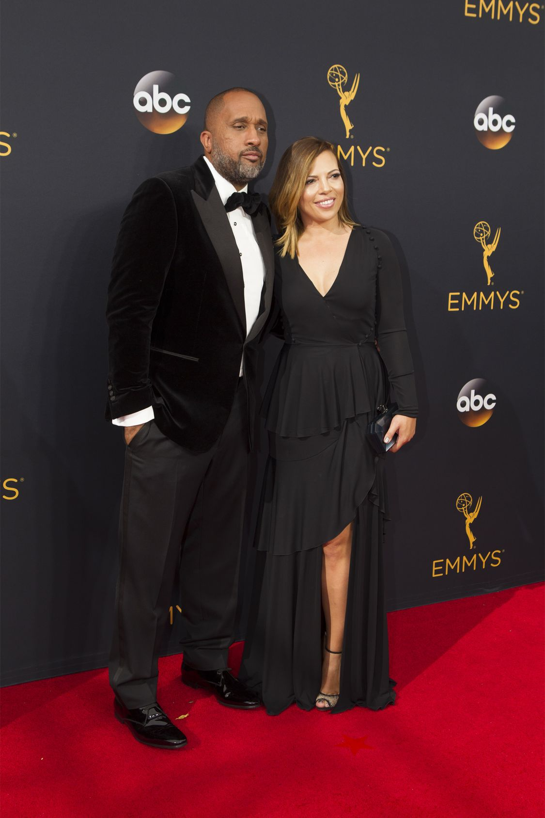 """THE 68TH EMMY(r) AWARDS - """"The 68th Emmy Awards"""" broadcasts live from The Microsoft Theater in Los Angeles, Sunday, September 18 (7:00-11:00 p.m. EDT/4:00-8:00 p.m. PDT), on ABC and is hosted by Jimmy Kimmel. (ABC/Rick Rowell) KENYA BARRIS"""