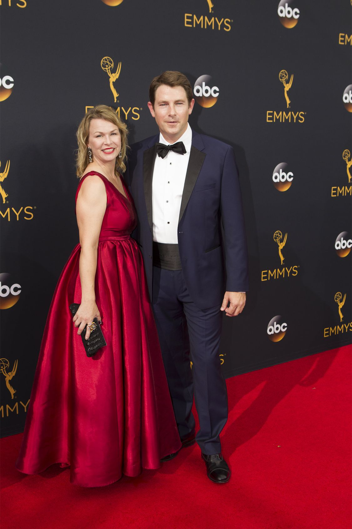 """THE 68TH EMMY(r) AWARDS - """"The 68th Emmy Awards"""" broadcasts live from The Microsoft Theater in Los Angeles, Sunday, September 18 (7:00-11:00 p.m. EDT/4:00-8:00 p.m. PDT), on ABC and is hosted by Jimmy Kimmel. (ABC/Rick Rowell) DEREK CECIL"""