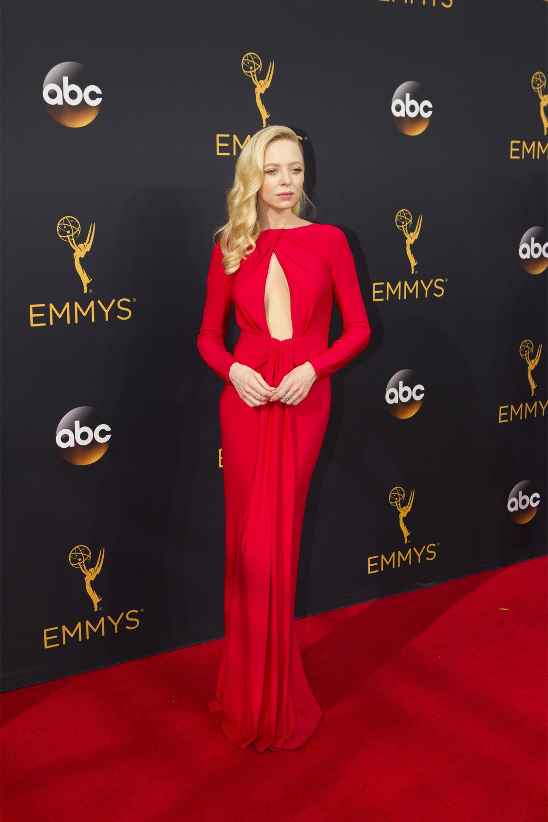 """THE 68TH EMMY(r) AWARDS - """"The 68th Emmy Awards"""" broadcasts live from The Microsoft Theater in Los Angeles, Sunday, September 18 (7:00-11:00 p.m. EDT/4:00-8:00 p.m. PDT), on ABC and is hosted by Jimmy Kimmel. (ABC/Rick Rowell)"""