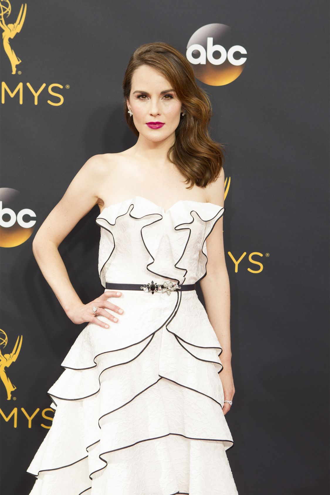 """THE 68TH EMMY(r) AWARDS - """"The 68th Emmy Awards"""" broadcasts live from The Microsoft Theater in Los Angeles, Sunday, September 18 (7:00-11:00 p.m. EDT/4:00-8:00 p.m. PDT), on ABC and is hosted by Jimmy Kimmel. (ABC/Rick Rowell) MICHELLE DOCKERY"""