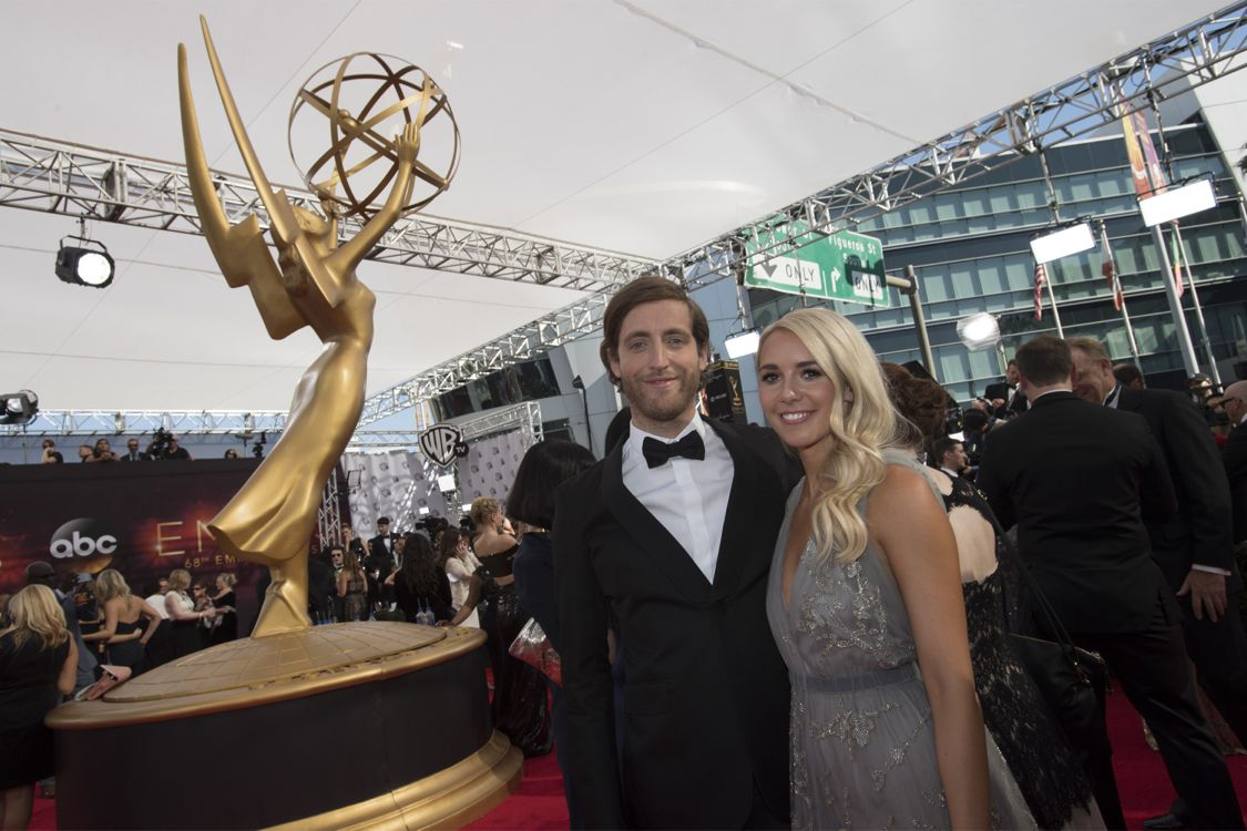"""THE 68TH EMMY(r) AWARDS - """"The 68th Emmy Awards"""" broadcasts live from The Microsoft Theater in Los Angeles, Sunday, September 18 (7:00-11:00 p.m. EDT/4:00-8:00 p.m. PDT), on ABC and is hosted by Jimmy Kimmel. (ABC/Image Group LA) THOMAS MIDDLEDITCH"""