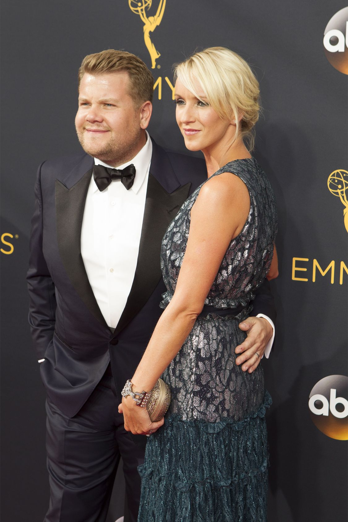 """THE 68TH EMMY(r) AWARDS - """"The 68th Emmy Awards"""" broadcasts live from The Microsoft Theater in Los Angeles, Sunday, September 18 (7:00-11:00 p.m. EDT/4:00-8:00 p.m. PDT), on ABC and is hosted by Jimmy Kimmel. (ABC/Rick Rowell) JAMES CORDEN"""