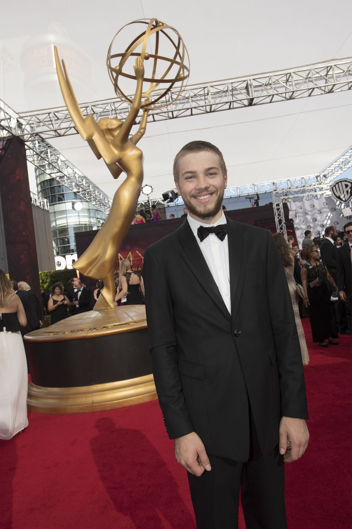 """THE 68TH EMMY(r) AWARDS - """"The 68th Emmy Awards"""" broadcasts live from The Microsoft Theater in Los Angeles, Sunday, September 18 (7:00-11:00 p.m. EDT/4:00-8:00 p.m. PDT), on ABC and is hosted by Jimmy Kimmel. (ABC/Image Group LA) CONNOR JESSUP"""