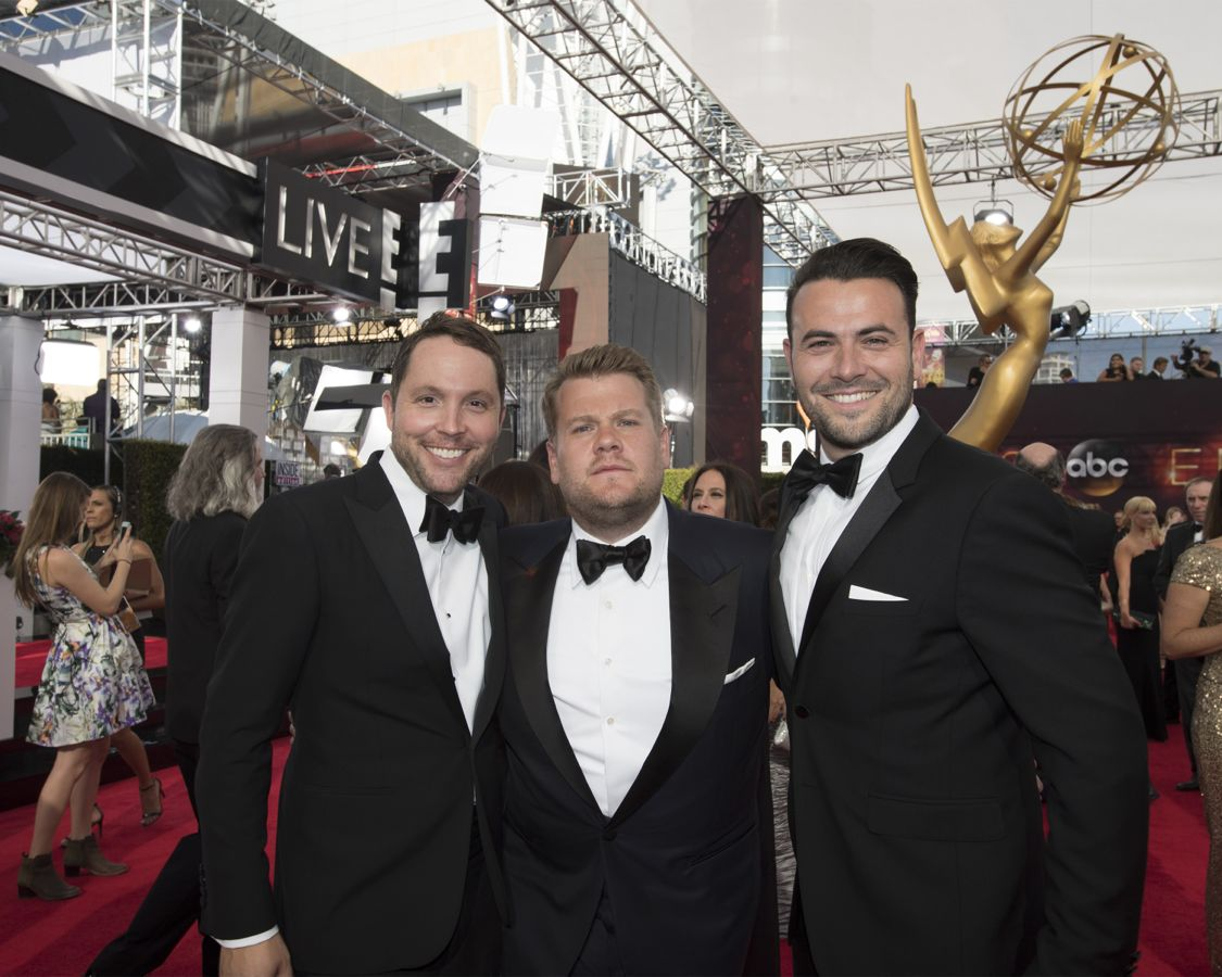 """THE 68TH EMMY(r) AWARDS - """"The 68th Emmy Awards"""" broadcasts live from The Microsoft Theater in Los Angeles, Sunday, September 18 (7:00-11:00 p.m. EDT/4:00-8:00 p.m. PDT), on ABC and is hosted by Jimmy Kimmel. (ABC/Image Group LA) JAMES CORDEN"""
