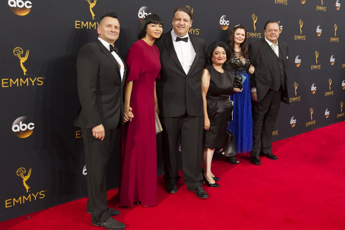 """THE 68TH EMMY(r) AWARDS - """"The 68th Emmy Awards"""" broadcasts live from The Microsoft Theater in Los Angeles, Sunday, September 18 (7:00-11:00 p.m. EDT/4:00-8:00 p.m. PDT), on ABC and is hosted by Jimmy Kimmel. (ABC/Image Group LA) PAUL SORVINO"""