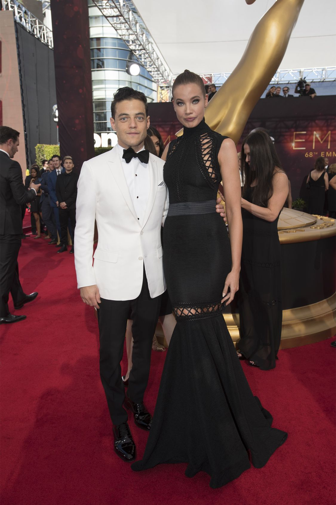 """THE 68TH EMMY(r) AWARDS - """"The 68th Emmy Awards"""" broadcasts live from The Microsoft Theater in Los Angeles, Sunday, September 18 (7:00-11:00 p.m. EDT/4:00-8:00 p.m. PDT), on ABC and is hosted by Jimmy Kimmel. (ABC/Image Group LA) RAMI MALEK"""
