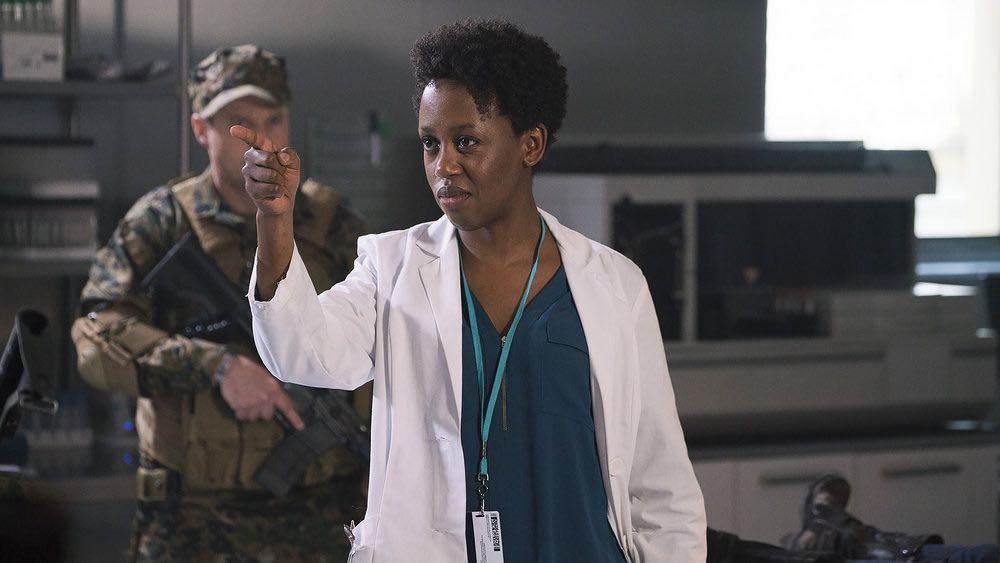 "VAN HELSING -- ""Seen You"" Episode 102 -- Pictured: Rukiya Bernard as Doc -- (Photo by: Robert Akester/Helsing S1 Productions/Syfy)"