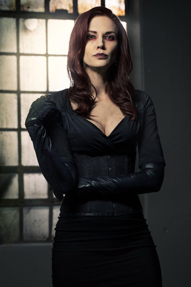 VAN HELSING -- Season:1 -- Pictured: Laura Mennell as Rebecca -- (Photo by: Brendan Meadows/HELSING S1 PRODUCTIONS/Syfy)