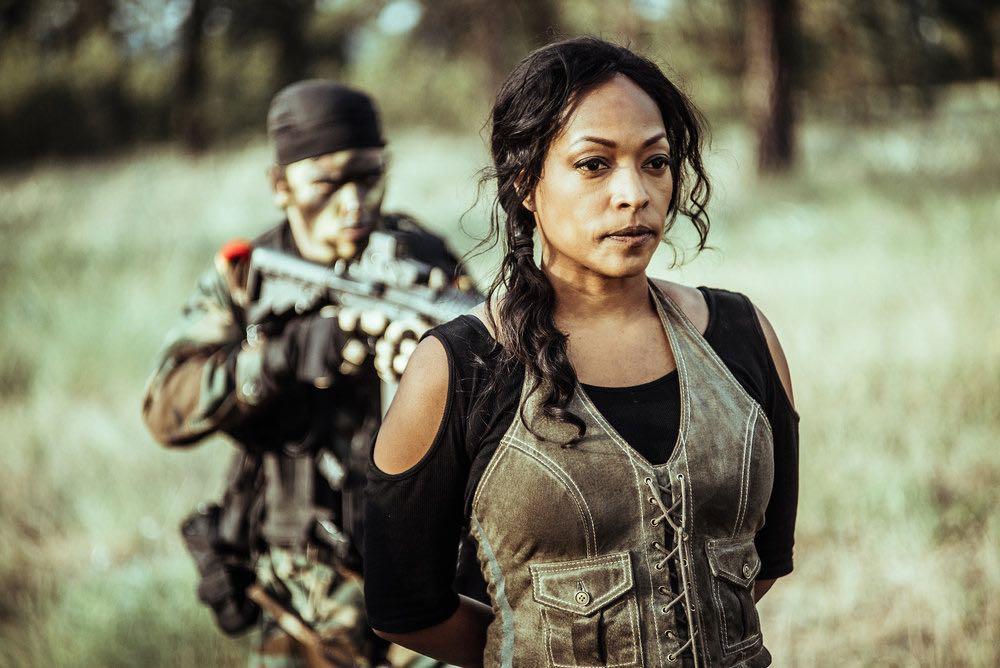 "Z NATION -- ""A New Mission"" Episode 303 -- Pictured: Kellita Smith as Warren -- (Photo by: Daniel Sawyer Schaefer/Go2 Z/Syfy)"