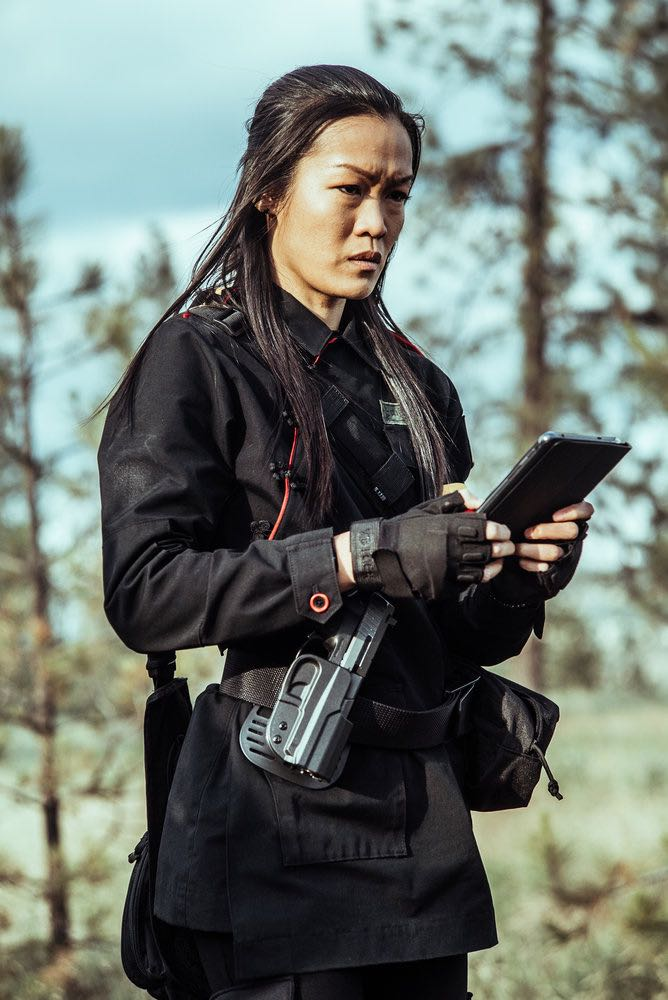 "Z NATION -- ""A New Mission"" Episode 303 -- Pictured: Sydney Viengluang as Sun Mei -- (Photo by: Daniel Sawyer Schaefer/Go2 Z/Syfy)"