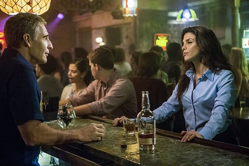 """""""Suspicious Minds"""" -- Pride faces further backlash from the FBI when he helps former Navy Intelligence Analyst Elvis Bertrand (Tom Arnold), who is the lead suspect in a multiple homicide case, on NCIS: NEW ORLEANS, Tuesday, Sept. 27 (10:00-11:00 PM, ET/PT), on the CBS Television Network. Pictured L-R: Scott Bakula as Special Agent Dwayne Pride and Vanessa Ferlito as FBI Special Agent Tammy Gregorio Photo: Skip Bolen/CBS ©2016 CBS Broadcasting, Inc. All Rights Reserved"""