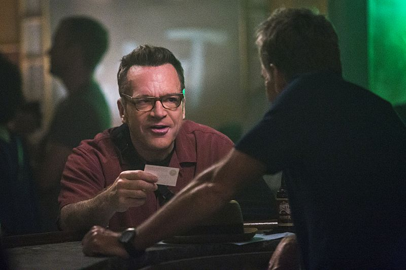 """""""Suspicious Minds"""" -- Pride faces further backlash from the FBI when he helps former Navy Intelligence Analyst Elvis Bertrand (Tom Arnold), who is the lead suspect in a multiple homicide case, on NCIS: NEW ORLEANS, Tuesday, Sept. 27 (10:00-11:00 PM, ET/PT), on the CBS Television Network. Pictured L-R: Tom Arnold as Elvis Bertrand and Scott Bakula as Special Agent Dwayne Pride Photo: Skip Bolen/CBS ©2016 CBS Broadcasting, Inc. All Rights Reserved"""