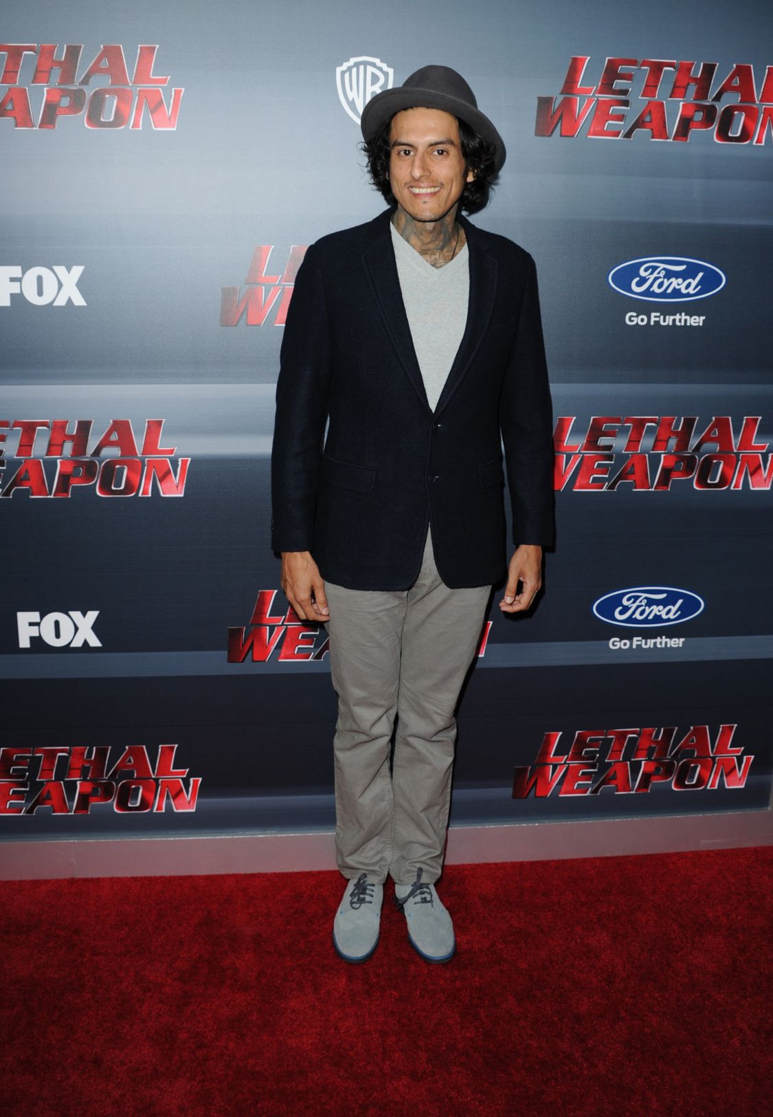 LETHAL WEAPON: Richard Cabral celebrates the LETHAL WEAPON premiere party at NeueHouse Hollywood on Monday, Sept. 12, in Los Angeles, CA, sponsored by Ford. LETHAL WEAPON premieres Wednesday, Sept. 21 (8:00-9:00 PM ET/PT) on FOX. ©2016 Fox Broadcasting Co. CR: Frank Micelotta/FOX