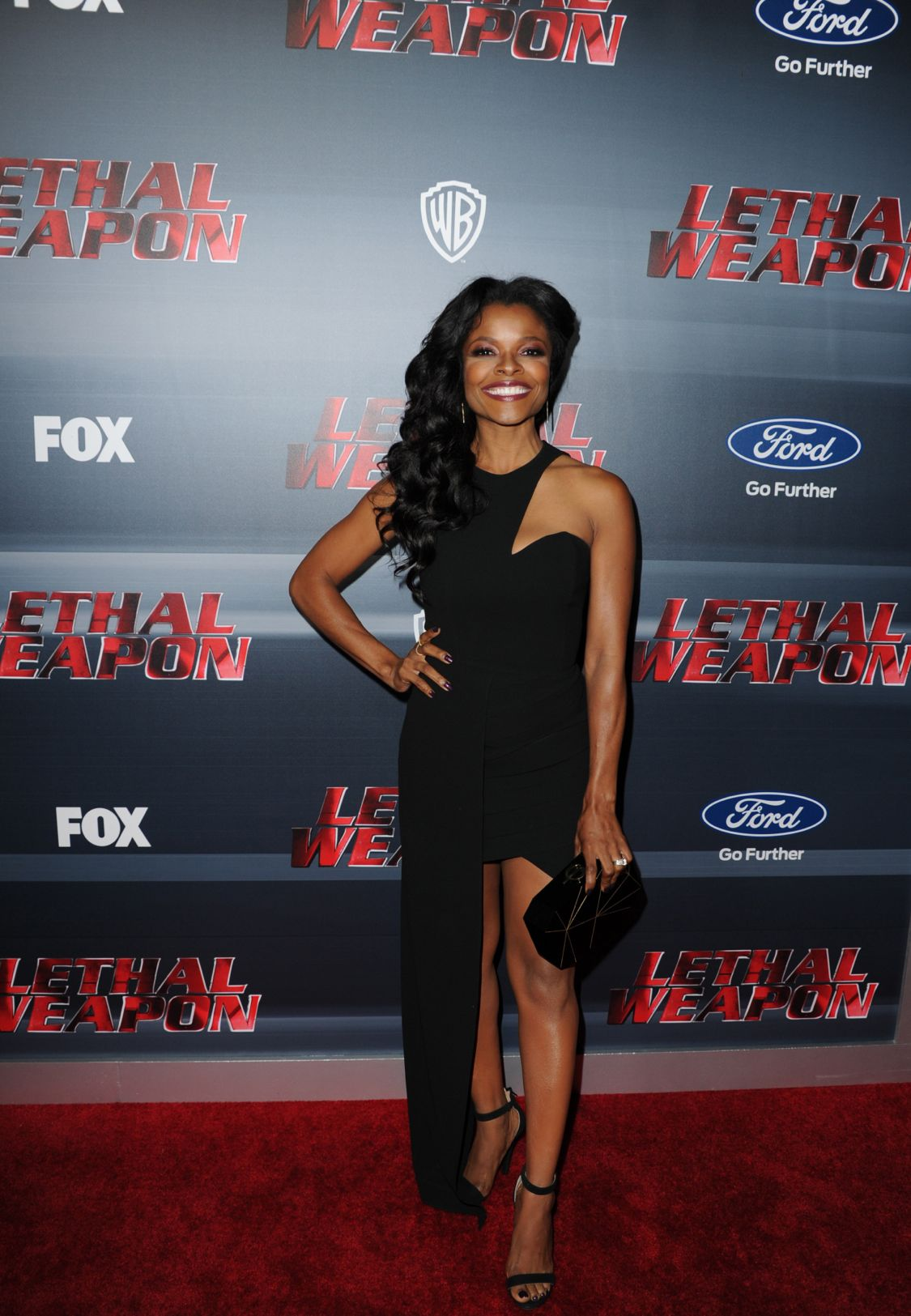 LETHAL WEAPON: Keesha Sharp celebrates the LETHAL WEAPON premiere party at NeueHouse Hollywood on Monday, Sept. 12, in Los Angeles, CA, sponsored by Ford. LETHAL WEAPON premieres Wednesday, Sept. 21 (8:00-9:00 PM ET/PT) on FOX. ©2016 Fox Broadcasting Co. CR: Frank Micelotta/FOX