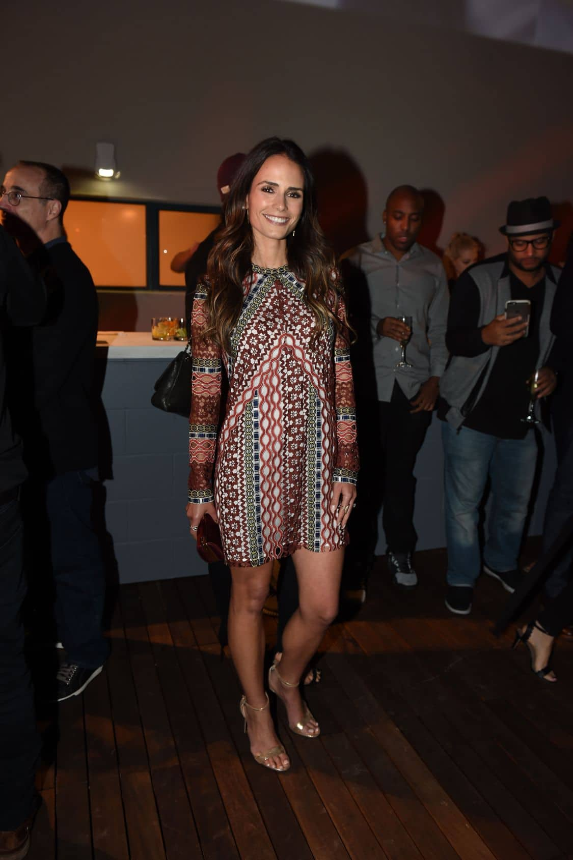 LETHAL WEAPON: Jordana Brewster celebrates at the LETHAL WEAPON premiere party at NeueHouse Hollywood on Monday, Sept. 12, in Los Angeles, CA, sponsored by Ford. LETHAL WEAPON premieres Wednesday, Sept. 21 (8:00-9:00 PM ET/PT) on FOX. ©2016 Fox Broadcasting Co. CR: Frank Micelotta/FOX