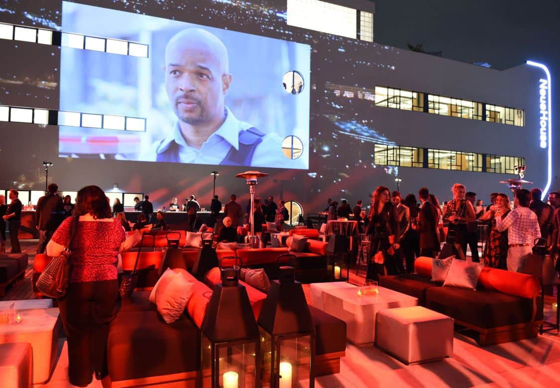 LETHAL WEAPON: The LETHAL WEAPON premiere party at NeueHouse Hollywood on Monday, Sept. 12, in Los Angeles, CA, sponsored by Ford. LETHAL WEAPON premieres Wednesday, Sept. 21 (8:00-9:00 PM ET/PT) on FOX. ©2016 Fox Broadcasting Co. CR: Frank Micelotta/FOX